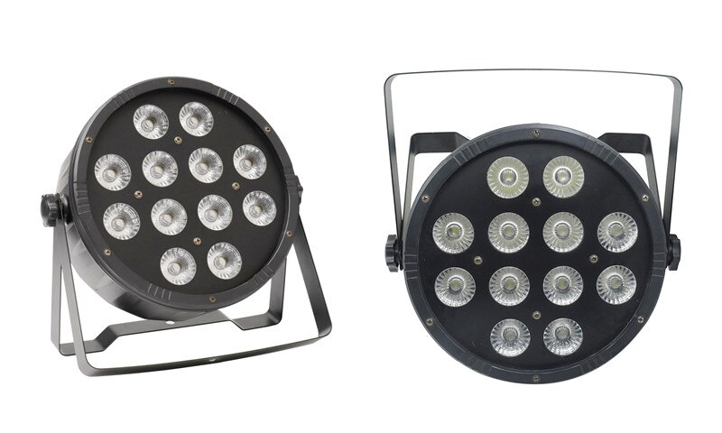 Slim LED PAR RGBW 12x10